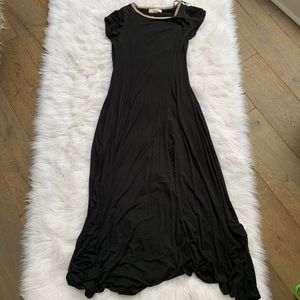 michael michael kors • black maxi dress